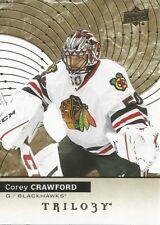 Corey Crawford #46 - 2017-18 Trilogy - Base