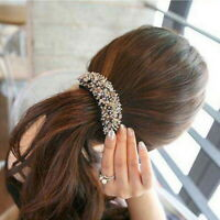 Women's Crystal Bead Hair Clips Pins Barrettes Hair Accessories Hairpin Party
