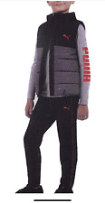 PUMA Little Boy's 3 Piece Clothing Set, Size:Small(7/8)
