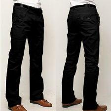 Mens Slim Fit Formal Business Straight Dress Pants Trousers Pencil Pants 29 - 36