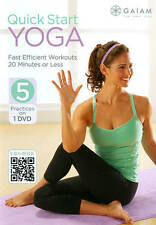 New Sealed Quick Start Yoga (DVD, 2013k)o Energy Begin Flow Abs Tone Strong Back
