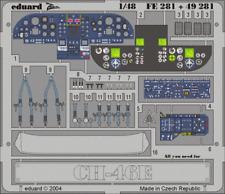 Eduard Zoom fe281 1/48 Boeing ch-46e mer chevalier Academy MRC