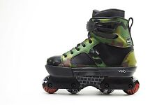 Valo Skate TV-3 Camo Complete - Size 7 Aggressive Skate