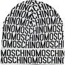 MOSCHINO White & Black Wool Beanie, One Size Adult