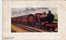 RAILWAY : The Scotch Express - TUCK 'Oilette' Platemarked