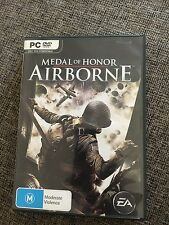 PC GAMES. EA. MEDIA OF HONOR AIRBORNE WITH MANUAL