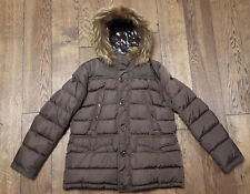 "Moncler ""Charente"" Padded Jacket - Brown - Size 5 / XL - Excellent Condition"