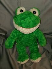 Build A Bear Soft Plush Green Frog Stuffed Animal Babw Retired 18""