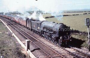 Colour-Rail Slide BRE 323 Beal A1 60129 Guy Mannering 1962 CR130
