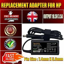 GENUINE TECHVS FOR HP COMPAQ 609939-001 COMPAQ 6510P 18.5v 3.5a LAPTOP CHARGER