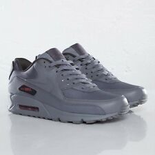 AIR MAX 1 BW 90 STASH anthracite GREY / gym  RED sz 11 BRAND NEW RARE RELEASE!!