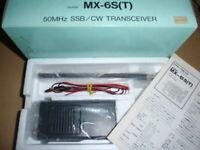 Mizuho Picotra MX-6S (50MHZ SSB / CW) ham radio ssb portable #BOF30000