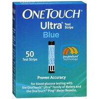 OneTouch 353885004183 Ultra Test Strips - Blue (100 test strips)