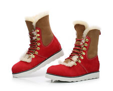 504. NEW! Red Martin UGG Tasman boot aus4