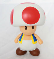 "Super Mario Brothers Bros Toad 4"" Action Figure Kids Cake Decoration USA SELLER"