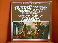 VINYL 33T – HISTORY OF JAZZ BYG VOL 10 : ART ENSEMBLE CHICAGO ARCHIE SHEPP  FREE