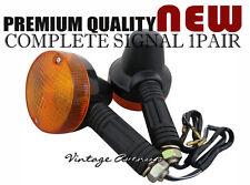 SUZUKI TS50 TS50ER TS100 TS100ER TS125 TS125ER FRONT SIGNAL LIGHT PAIR 6V [TW21]
