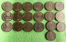 Frankreich Lot 19 x 10 Franc UNC/Stempelglanz
