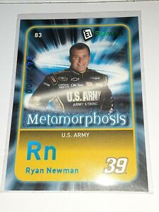 2009 Wheels Element Ryan Newman BLUE *Metamorphosis* Insert Card 83 #/100!!