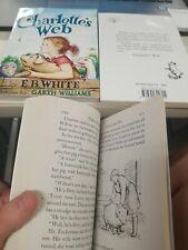 Charlotte's Web by E.B. White - classic story- paperback novel New book