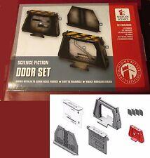 Spartan Scenics SGSS05 Door Set (12) 28mm Miniatures Science Fiction Terrain NIB