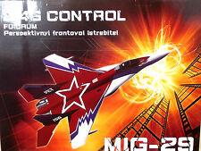 MIG 29 Jet Rtf Listo Para Volar de arranque RC de radio control Avión Nuevo Reino Unido empuje Prop