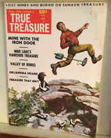 "Long John Latham's TRUE TREASURE MAGAZINE Jun 1969~""MINE WITH THE IRON DOOR"""