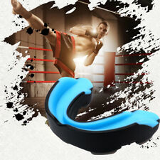 Gel Gum Shield Mouth Guard Case Teeth Grinding Boxing MMA Sports for Kids/Adults