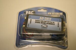 PAC #AAI-GM12 Auxillary Audio Input Interface for GM Automobiles Vehicles - NIP
