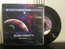 """7"""" Vinyl ED STARINK - Electricity / Equinoxe - Synthesizer Greatest - NEW 2020"""