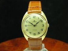 Dugena Junior Gold Mantel/Stainless Steel Hand Wound Men's Watch/Caliber 2003