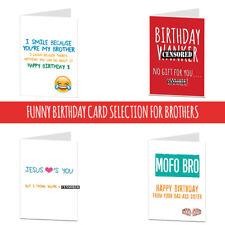 happy birthday brother card rude cheeky funny humour joke