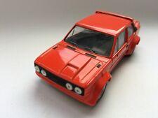 Del Prado Fiat Abarth 131 - rot etwa Minichamps Gr. Original  1/ 43