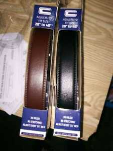 Mens Comfort Click Leather Belt Automatic Adjustable Men Gift TV US Seller Fast