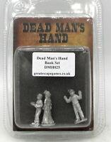 Dead Man's Hand DMH025 Bank Set (Civilian) Old West Townsfolk Great Escape Games