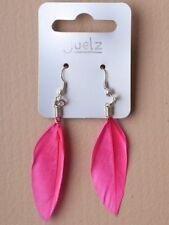 Orecchini di bigiotteria rose piuma