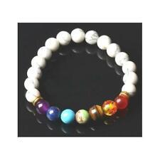 Howlite Round Beads 8mm White/Mixed 20+ Pcs Stretchy Bracelet Gemstones Crafts