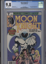 MOON KNIGHT #1 MT 9.8 CGC WHITE PAGES ORIGIN OF MOON KNIGHT RARE NEWSTAND EDITIO