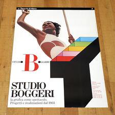 TRIENNALE MILANO poster manifesto affiche Studio Boggeri Architecture B25