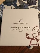 Millstrand Company Soy Candle In Pomegranate Blush 430g