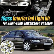 16Pc Super White Car Interior LED Light Kit for 2004-2006 Volkswagen Phaeton