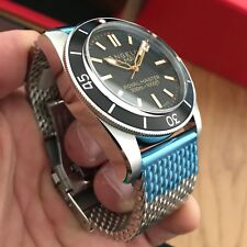 BNIB Angelo Del Mare 46mm Royal Master Diver Watch Reference 6542