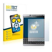2x Displayschutzfolie Matt BlackBerry Passport Silver Edition Schutzfolie