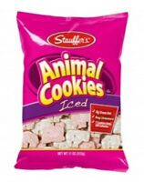 Stauffer's Iced Animal Cookies 11 oz bag perfect kid snack FREE shipping in USA