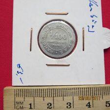ALEMANIA - HAMBURGO Banco 1/100 verrechnungsmarke 1923 - NOTGELD - EN MARCO IV