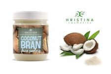 Super Effective Gently Exfoliating 100% Natural Face Scrub Coconut Bran Peeling