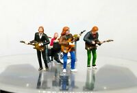 THE BEATLES ROOFTOP CONCERT EXCLUSIVE SET HO 1:87 MINIATURE FIGURE NO PREISER