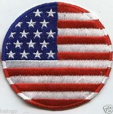 USA ROUND FLAG PATCH - FLG16