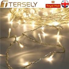 10-100M Christmas Fairy Wire String Lights LED Indoor UK Plug In Wedding Party