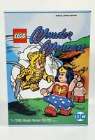 2020 DC EXCLUSIVE WONDER WOMAN LEGO SET 77906 CHEETAH SDCC IN HAND